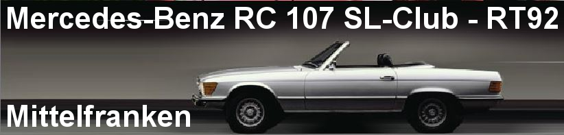 Mercedes-Benz RC 107 SL-Club - RT92 - Mittelfranken